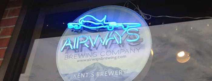 Airways Brewing Beer & Bistro is one of WABL Passport.