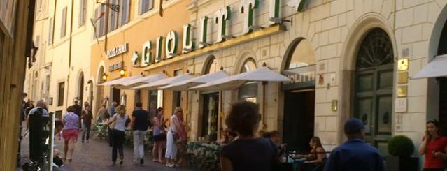 Giolitti is one of World Gourmet Guide.