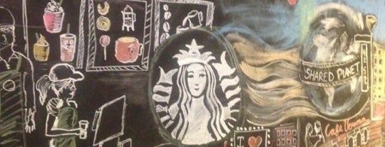 Starbucks is one of Places in NY.