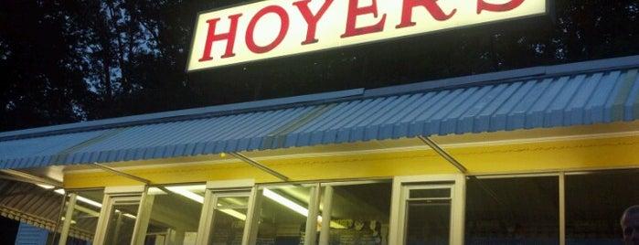 Hoyer's Ice Cream is one of Vanessa : понравившиеся места.