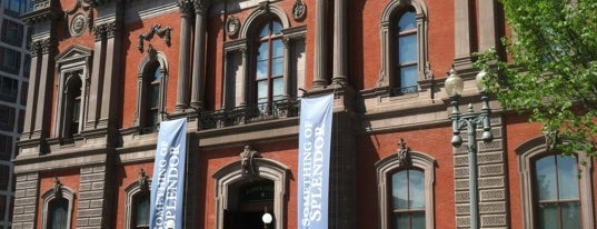 Renwick Gallery is one of Washington DC.