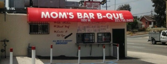 Mom's Bar-B-Que is one of Before you leave LA, you must....