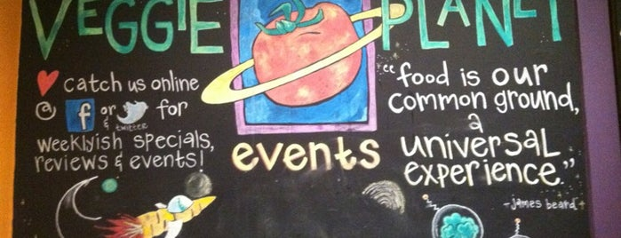 Veggie Planet is one of Boston.