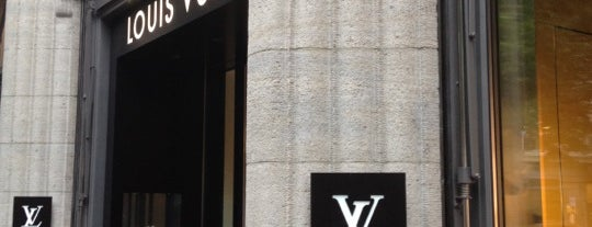 Louis Vuitton is one of Zurich: business trip 2014-2015.