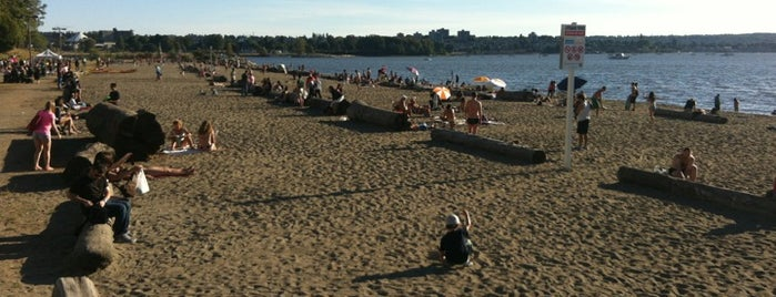 English Bay Beach is one of Vancouver in a nutshell.