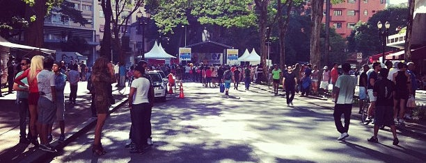 Largo do Arouche is one of Virada Cultural 2013.
