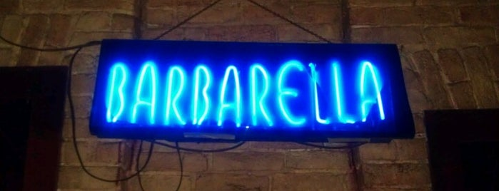 Barbarella is one of Austin Recs.