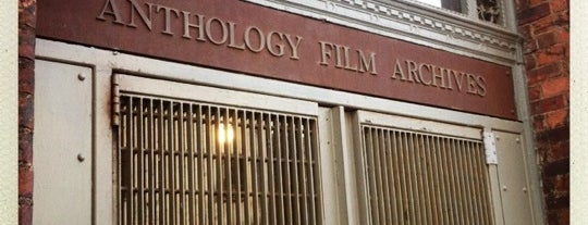 Anthology Film Archives is one of Marvel Comics NYC Landmarks.