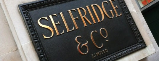 Selfridges & Co is one of Marylebone, London.