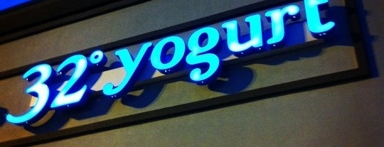 32° Yogurt Bar is one of Places I've Yet to Explore.