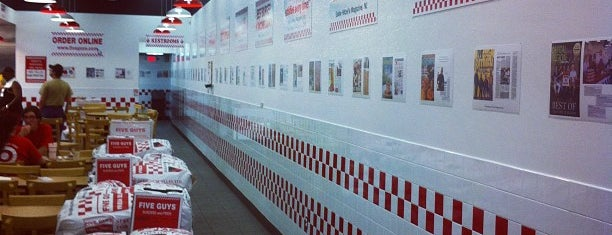 Five Guys is one of A few of my favorite places.