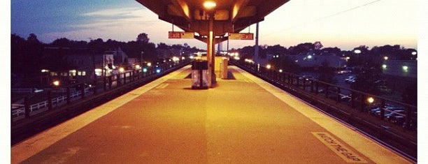 LIRR - Lindenhurst Station is one of Trainspotter Badge.