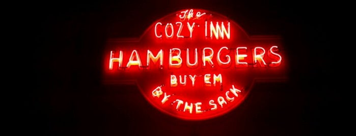 Cozy Inn is one of Best Burgers Around the Country.