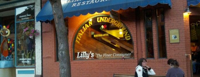 The Italian Underground Restaurant is one of Tempat yang Disimpan Ryan.