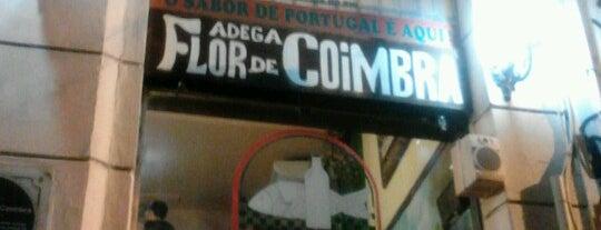 Adega Flor de Coimbra is one of Botecos cariocas.