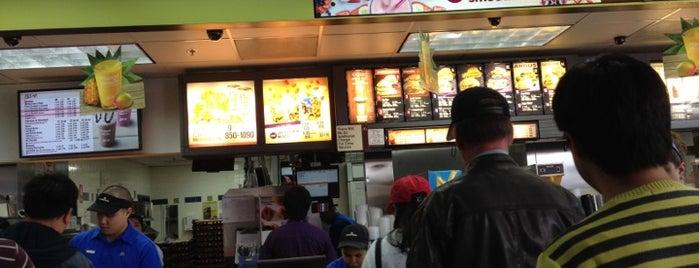 McDonald's is one of California.