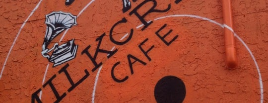 Milkcrate Cafe is one of Favorite Coffee Shops other than Starbucks.