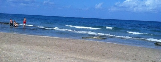 Lantana Beach is one of Florida.