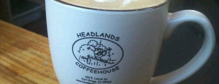 Headlands Coffeehouse is one of MENDOCINO, CA.