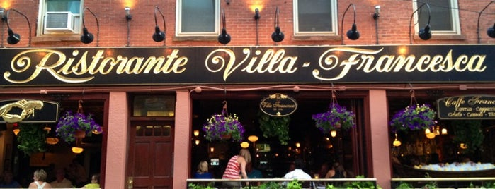 Villa Francesca is one of Boston To-Do.