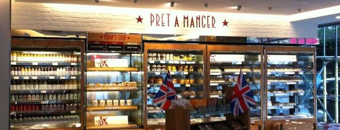 Pret A Manger is one of Mela : понравившиеся места.