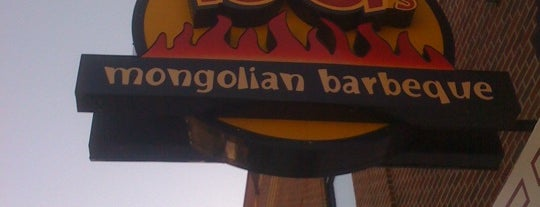 bd's Mongolian Grill is one of Lugares favoritos de Cindy.