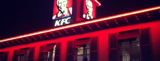 KFC is one of Locais curtidos por Kevin.