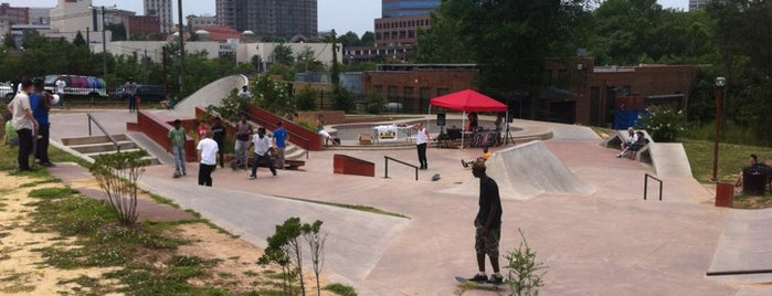 Durham Skatepark is one of Best places to go stoned.