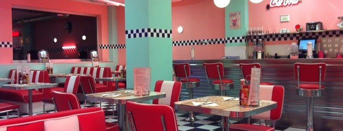 Peggy Sue's is one of Vigo comer sugerencias.
