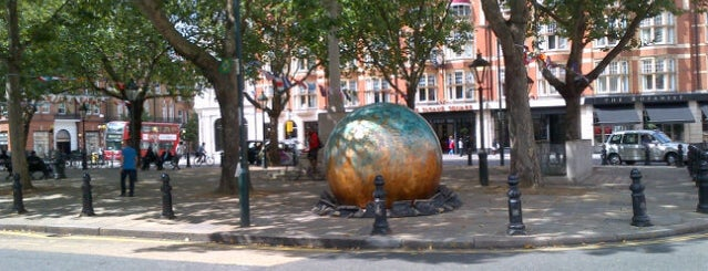 Sloane Square is one of London, UK.
