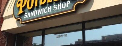 Potbelly Sandwich Shop is one of kazahel 님이 좋아한 장소.