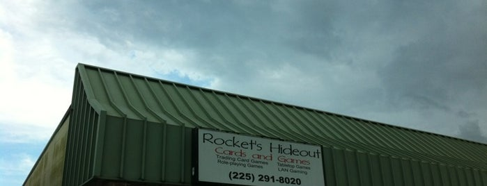 Rocket's Hideout Cards & Games is one of Td1.