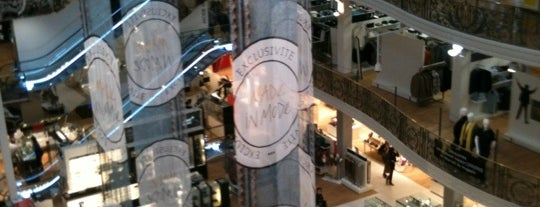 Galeries Lafayette is one of Champagne.