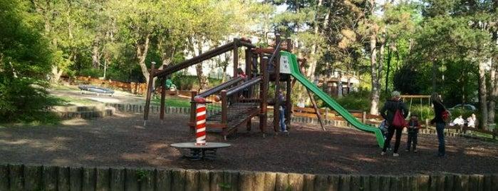 Fenyves parki játszótér is one of Játszóterek.