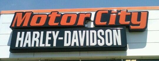 Motor City Harley-Davidson is one of Lieux qui ont plu à Cheryl.