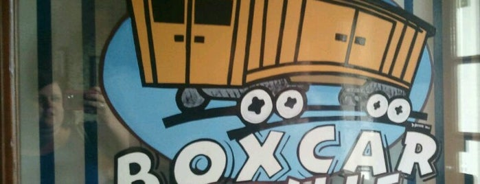 Boxcar Grille is one of Lieux qui ont plu à Sarah.