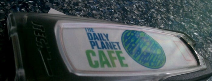 The Daily Planet Cafe is one of Justin 님이 좋아한 장소.
