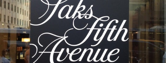 Saks Fifth Avenue is one of Future NYC Trip.