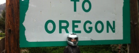 Oregon/California State Line is one of REDW/PDX.