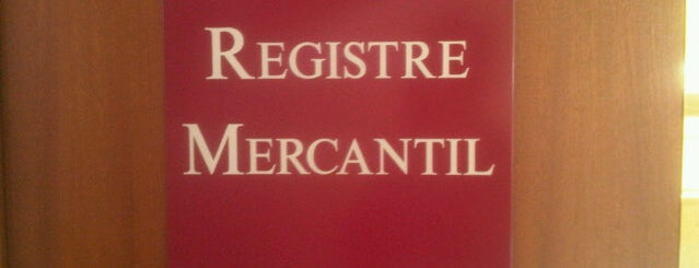 Registro Mercantil is one of Lista Cris B..