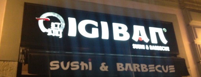 Igiban Japanese Restaurant is one of Lugares favoritos de Valeria.