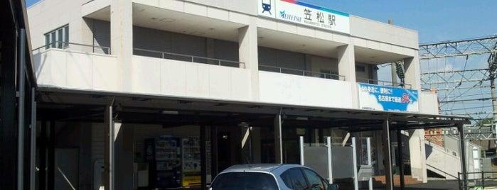 Kasamatsu Station (NH56) is one of Posti che sono piaciuti a Masahiro.