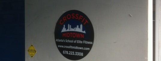 Crossfit Midtown is one of สถานที่ที่ Lindsay ถูกใจ.