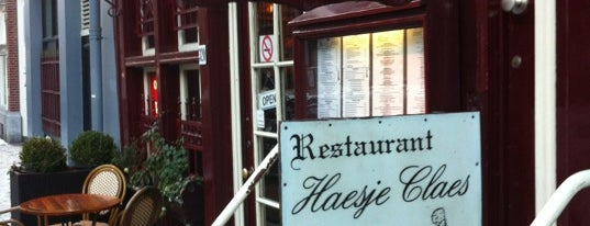 Restaurant Haesje Claes is one of Amsterdam.