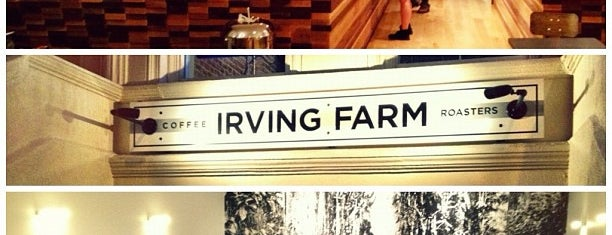 Irving Farm Coffee Roasters is one of NYC - eating, drinking, working.