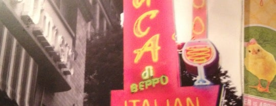 Buca di Beppo is one of David & Dana's LA BAR & EATS!.