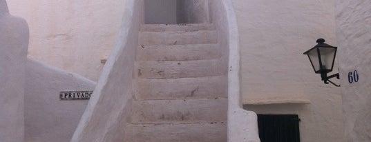 Binibeca Vell is one of Top Menorca.