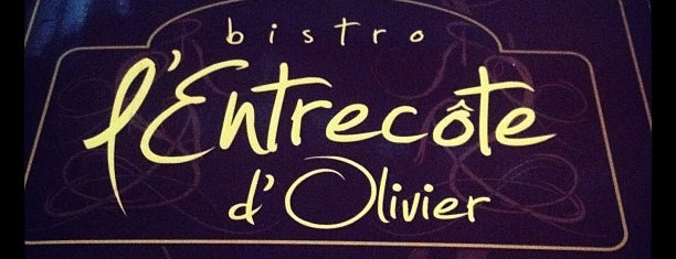 L'Entrecôte d'Olivier is one of Incríveis Restaurantes de SP.
