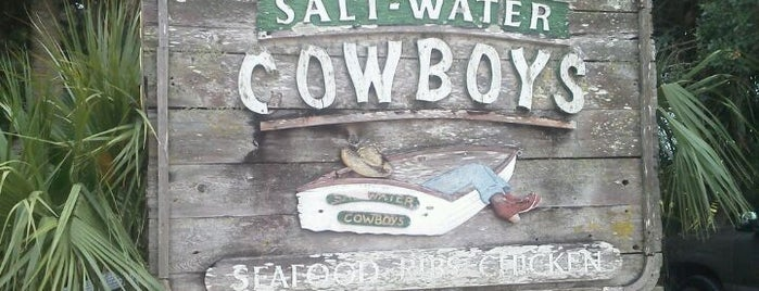 Salt Water Cowboys is one of St Augustine Florida.