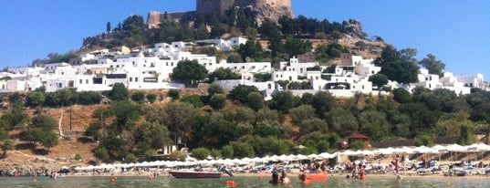 Lindos is one of Rhodes.